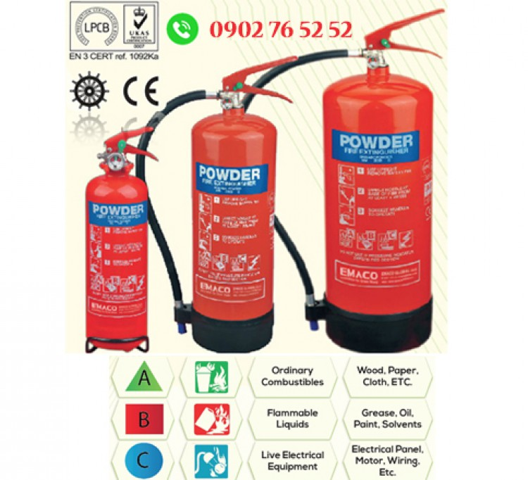Bình chữa cháy Bột ABC_EMACO